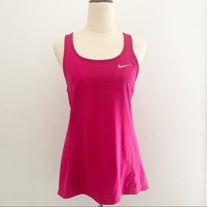 Nike Zonal Cooling Pink Singlet Size S